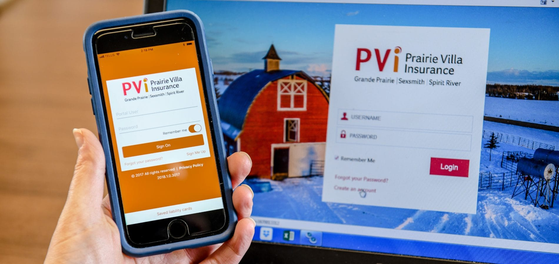 Client portal and My PVi app